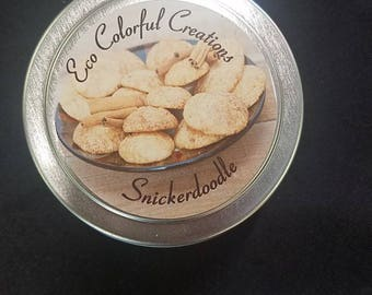 Snickerdoodle Soy Wax Candle