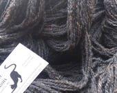 Natural Black Shetland Wool Yarn - 740 Yards