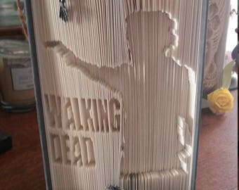 Walking Dead rick grimes book sculpture