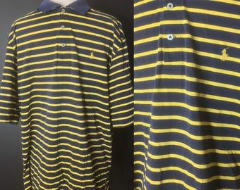 Polo Golf Ralph Lauren Vintage Retro 80s 90s Polo Shirt