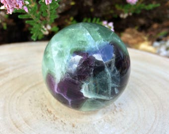 Rainbow Fluorite Sphere 45mm