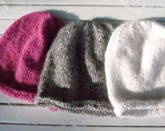 Color selection: Soft Merino/Alpaca Cap