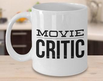 Movie Critic Mug Film Critic Mug Ceramic Coffee Cup Gift