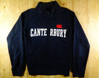 On Sale! Vintage CANTERBURY Rugby Sweatshirt Jacket Extra Large