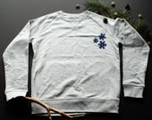 Snowflakes Sweatshirt / /...