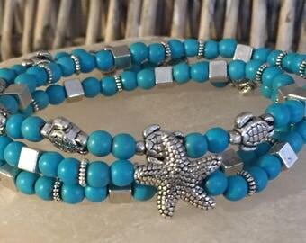 Turtle Love Infinity Bracelet