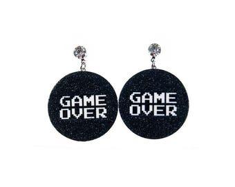 GAME OVER EARRINGS