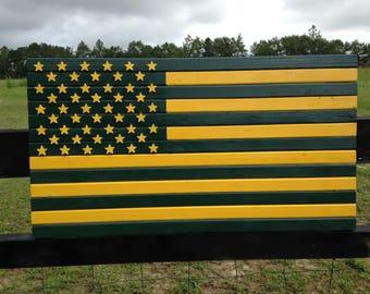 19x36Custom Green Bay packer flag