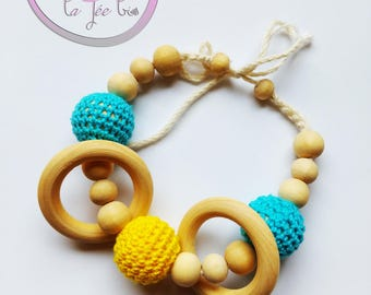 Bracelet of teething / breastfeeding / Babywearing baby
