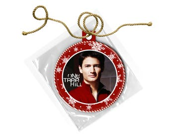 One Tree Hill Nathan Scott James Lafferty Christmas Ornament
