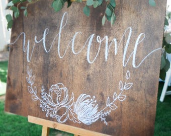 Wedding/Reception Welcome Sign