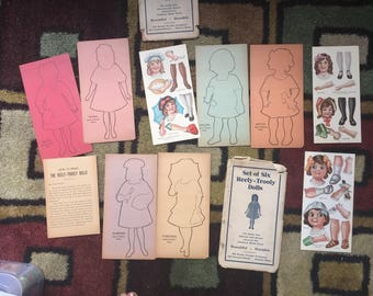 Reely-Trooly Paper Dolls