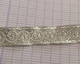Medieval Silver Ribbon of 1.5 cm in width
