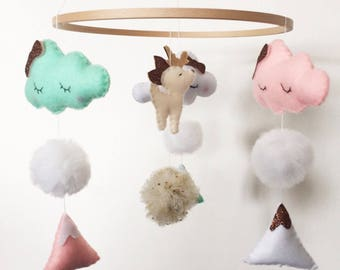 Baby mobile / wall hanging mobile.
