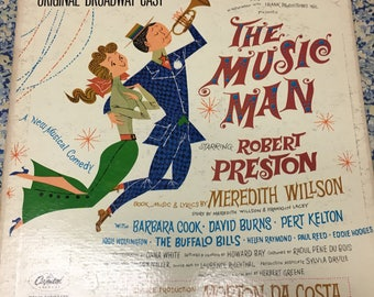 The Music Man, 1958 Original Broadway Cast album, very good condition