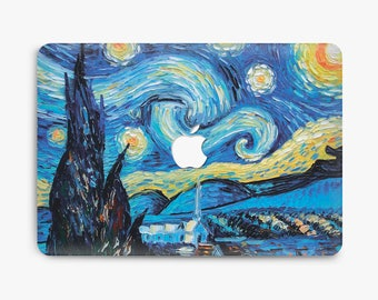 macbook hard plastic case macbook van gogh case macbook air 13 hard case macbook pro 13 hard case macbook pro 13 retina  hard case macbook a