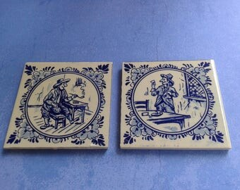 Tiles, Decorative, Blue/White