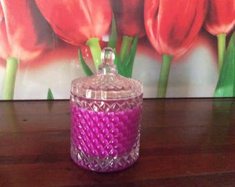 Raspberry large Candle with Mixed Berry Fragrance