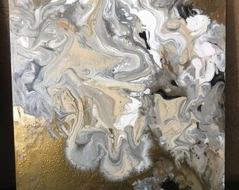 Gold marble 1