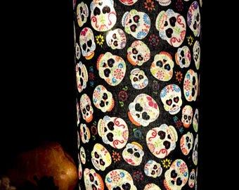 halloween decorations led luminary halloween skull decoration spooky fairy lights sugar skulls