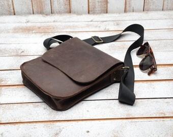mens leather bag, Mens Leather Bag, Mens Shoulder Bag, Small Leather Bag, Travel Bag,  Leather Messenger    Shoulder Bag  Courier Bag
