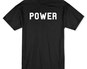 Power You Would Not Want To Know Men's Black T-shirt