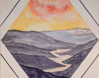 Mable Lake Sunset
