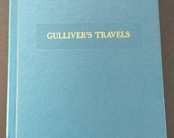 Gullivers Travels , 1960s , Jonathan Swift , Tale of a Tub , Battle of the Books , Childrens Classics