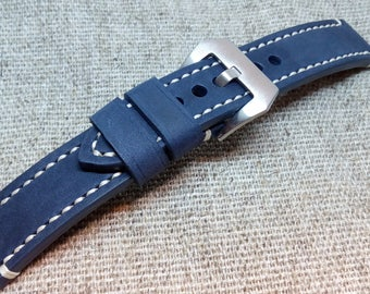 New genuine leather WATCH STRAP handmade vintage style.