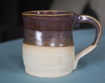 8oz Purple Ceramic Coffee Mug