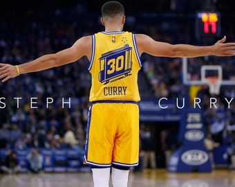 Steph Curry (Golden State Warriors) FREE SHIPPING