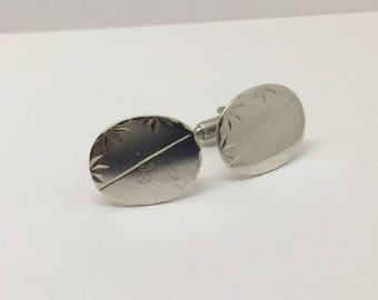 Sterling silver cufflinks #207