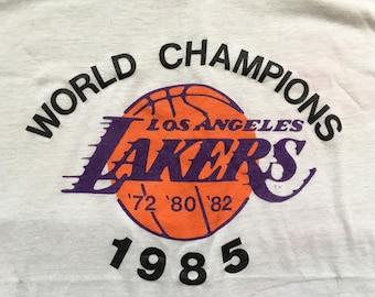 Vintage 1985 Los Angeles Lakers shirt-NBA-basketball