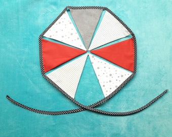 fabric Bunting personalized theme choice