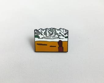 Wes Anderson Fantastic Mr. Fox Good Luck Out There Hard Enamel Pin