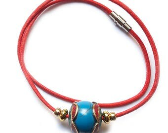 NEPALI RED NECKLACE