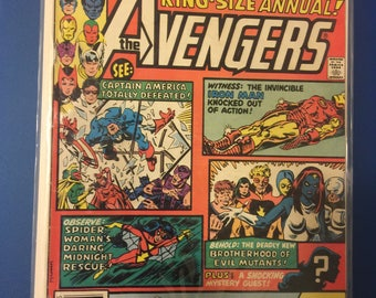 Marvel Comics AVENGERS Annual 10 First appearance of Rogue (X-Men)
