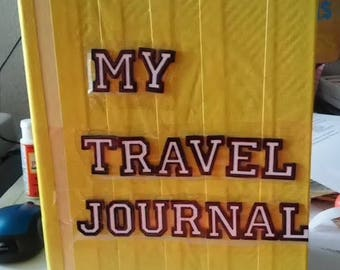 Yellow My Travel Journal Smashbook