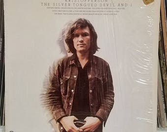Kris Kristofferson The Silver Tongued Devil And I 1971 Country Lp In Shrink Wrap Columbia Records PZ 30679