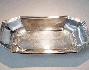Wallace Silversmiths Bread Tray | c. 1960's