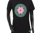 The Circle of Life Celestial Sacred Geometry Unisex Geometric Art Shirt