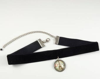 Black Velvet Choker, Black Choker, Thin Lace Choker, Velvet Chokers, Dainty Choker, Jewelry Gifts Unique Chokers Boho Bohemian Choker