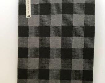 Pine Cozy - Black & Grey Checkered