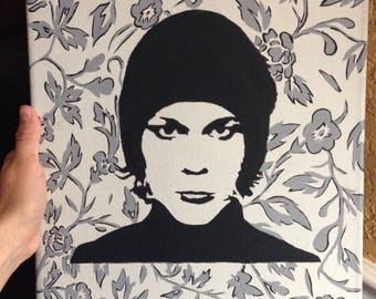 Ville Valo Stencil Painting