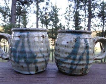 Set of Handmade Mugs / Set of Coffee Cups / Ceramic Coffee Cups