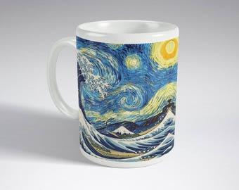 Van Gogh Starry Night Mug - Gift - Mug present - Van Gogh