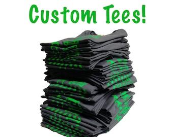 Custom Shirts. Custom Screen Print Shirt. Family Reunion Shirts. Custom Screenprint. screenprint tshirt. screen print tshirt. custom shirt