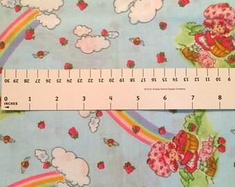 Strawberry Shortcake Rainbow Quilt Fabric 1/2 yard
