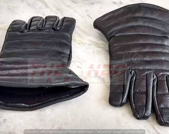 Padded Leather Gloves for Steel Gauntlets*/HEMA/SCA