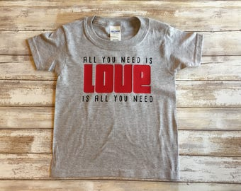 All You Need Is Love Shirt, Beatles Love Shirt, Love is All you need shirt